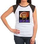 Lion of Judah 9 Women's Cap Sleeve T-Shirt