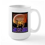 Lion of Judah 9 Large Mug