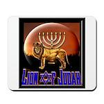 Lion of Judah 9 Mousepad