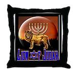 Lion of Judah 9 Throw Pillow