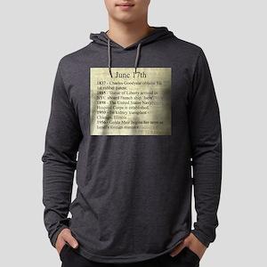 June 17th Mens Hooded Shirt