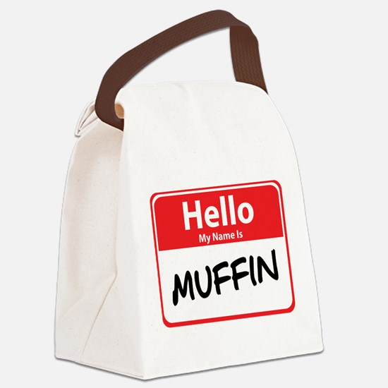 muffin.png Canvas Lunch Bag