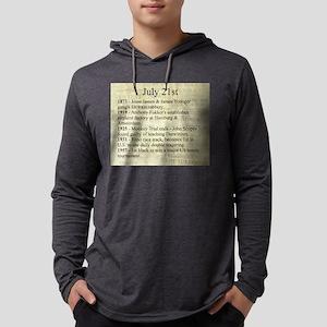 July 21st Mens Hooded Shirt