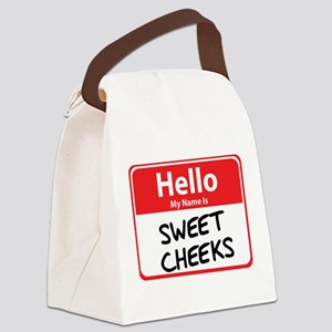 sweet cheeks Canvas Lunch Bag