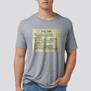 July 24th Mens Tri-blend T-Shirt