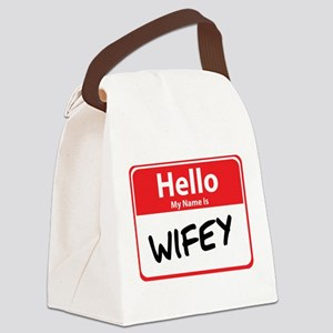 wifey Canvas Lunch Bag