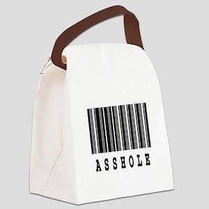 asshole Canvas Lunch Bag