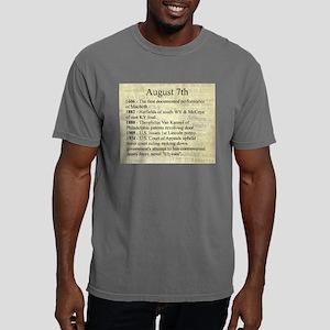 August 7th Mens Comfort Colors Shirt