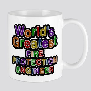 Worlds Greatest FIRE PROTECTION ENGINEER Mugs