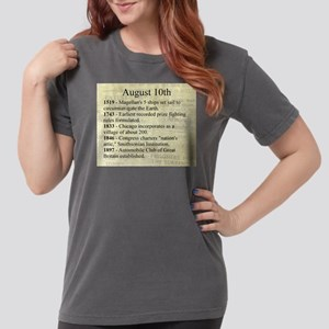 August 10th Womens Comfort Colors Shirt