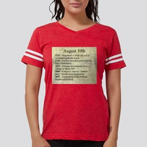 August 10th Womens Football Shirt