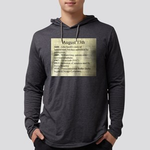 August 13th Mens Hooded Shirt