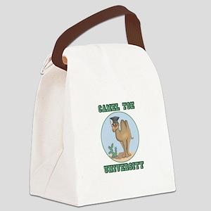 camel toe university copy Canvas Lunch Bag