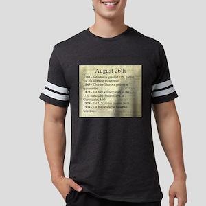 August 26th Mens Football Shirt