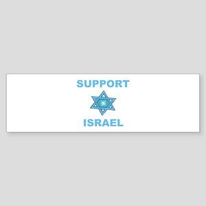 Support Israel Star of David Bumper Sticker