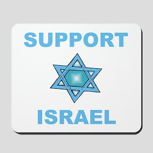 Support Israel Star of David Mousepad