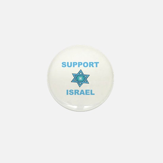 Support Israel Star of David Mini Button