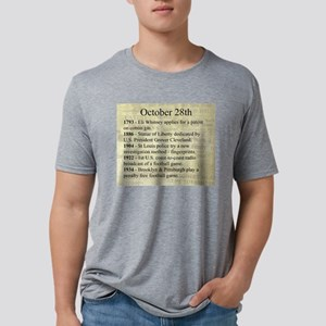 October 28th Mens Tri-blend T-Shirt