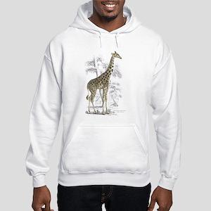 Giraffe (Front) Hooded Sweatshirt