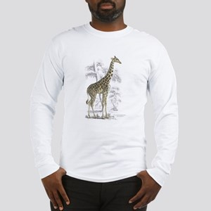 Giraffe (Front) Long Sleeve T-Shirt