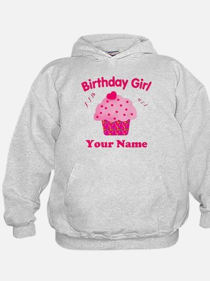 Birthday Girl Cupcake Hoody