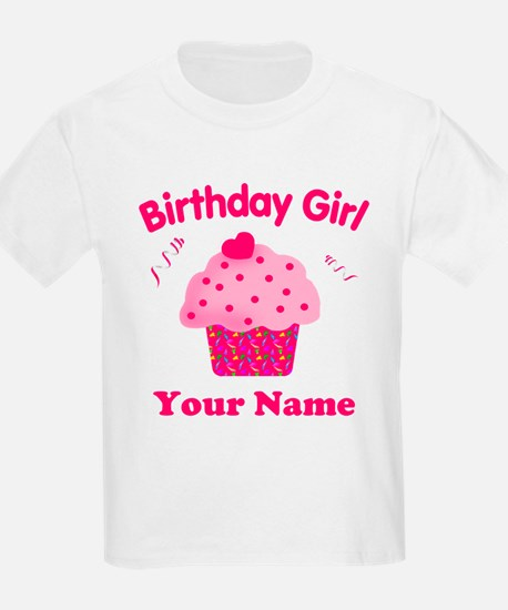 Birthday Girl Cupcake T-Shirt