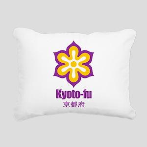 Kyoto-ken (flat) pocket Rectangular Canvas Pil