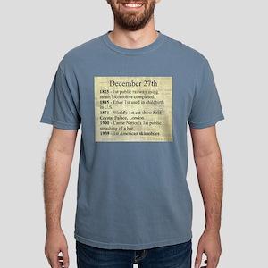 December 27th Mens Comfort Colors Shirt