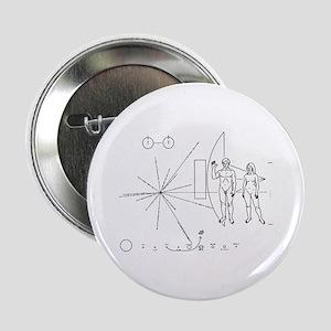 """Pioneer Plaque 2.25"""" Button"""