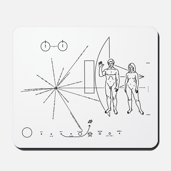 Pioneer Plaque Mousepad