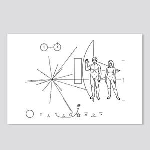 Pioneer Plaque Postcards (Package of 8)