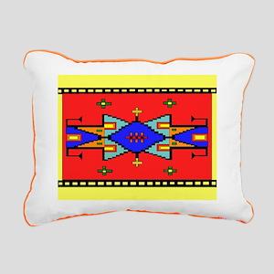 Lakota Dreams Blanket Design Rectangular Canvas Pi