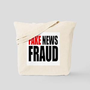 Fake News Fraud Tote Bag