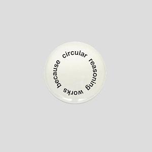 Circular Reasoning Mini Button