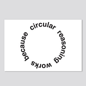 Circular Reasoning Postcards (Package of 8)