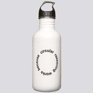 Circular Reasoning Stainless Water Bottle 1.0L