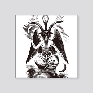 Sabbat Goat Rectangle Sticker