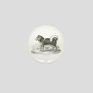 Eskimo Dog Mini Button