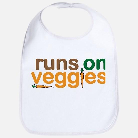 Runs on Veggies Bib
