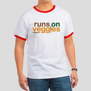 Runs on Veggies Ringer T