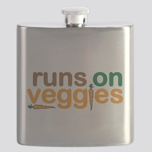 Runs on Veggies Flask