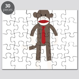 Red Tie Sock Monkey Puzzle