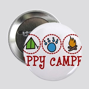 "Happy Camper 2.25"" Button"