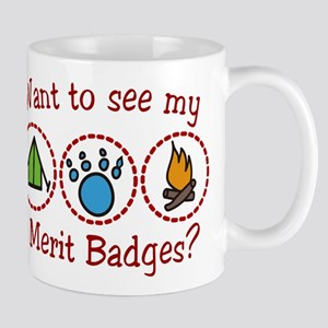 Merit Badges Mug