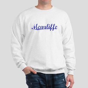 Mcauliffe, Blue, Aged Sweatshirt