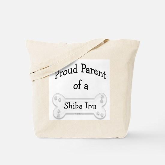 Proud Parent of a Shiba Inu Tote Bag