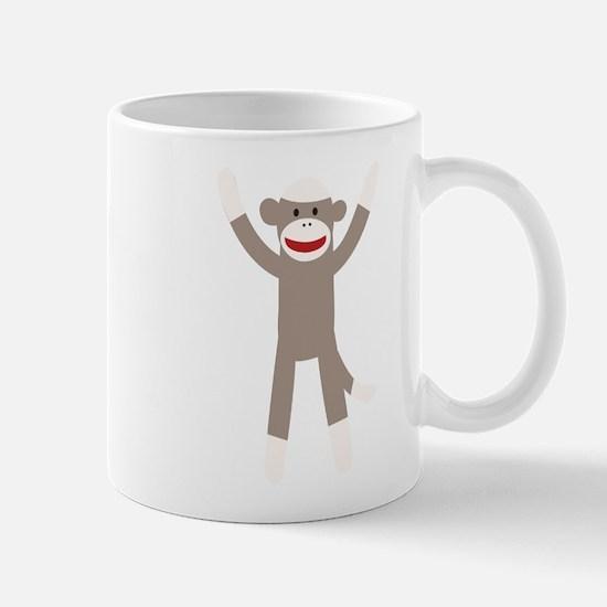 Excited Sock Monkey Mug