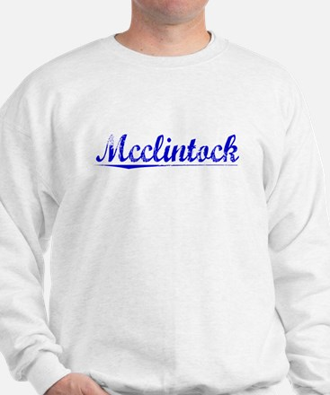 Mcclintock, Blue, Aged Sweatshirt