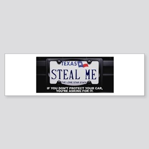 Steal Me Sticker (Bumper)
