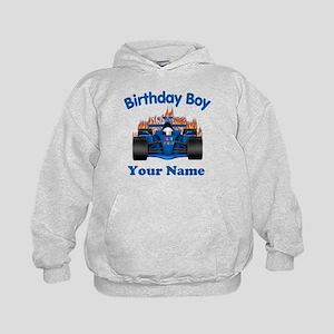 Birthday Boy Car Kids Hoodie